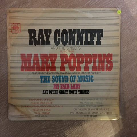 Ray Conniff And The Singers ‎– Music From Mary Poppins, The Sound Of Music, My Fair Lady And Other Great Movie Themes  - Vinyl LP Record - Opened  - Good+ Quality (G+)