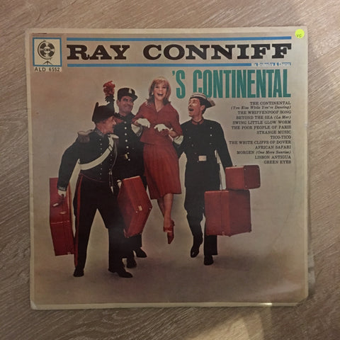 Ray Conniff - S' Continiental -  Vinyl LP Record - Opened  - Very-Good Quality (VG)