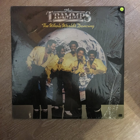 The Trammps - The Whole World's Dancing - Vinyl LP - Opened  - Very-Good+ Quality (VG+) - C-Plan Audio