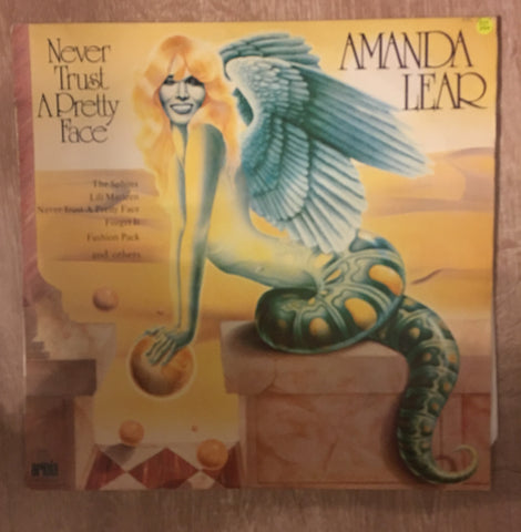 Amanda Lear - Never Trust a Pretty Face - Vinyl LP Record - Opened  - Very-Good+ Quality (VG+)