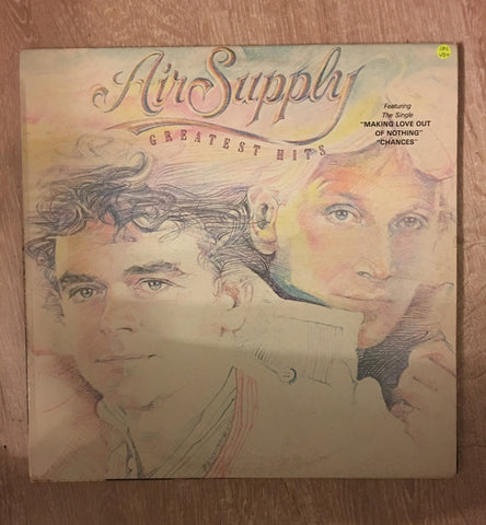 Air Supply - Greatest Hits - Vinyl LP Record - Opened  - Very-Good+ Quality (VG+)