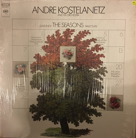 Andre Kostelanetz and His Orchestra - The Seasons - Vinyl LP Record - Opened  - Very-Good+ Quality (VG+)