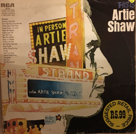 Artie Shaw - This Artie Shaw - Vinyl LP Record - Opened  - Very-Good+ Quality (VG+) - C-Plan Audio