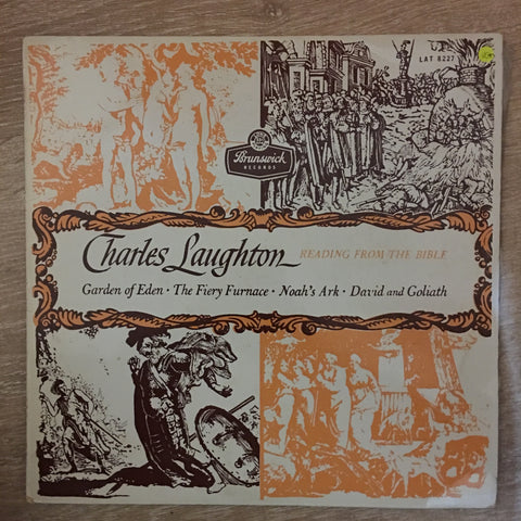 Charles Laughton ‎– Charles Laughton Reading From The Bible ‎– Vinyl LP Record - Very-Good+ Quality (VG+)