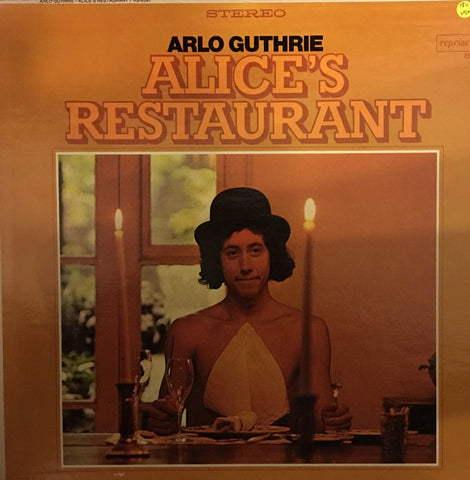 Arlo Guthrie  - Alice's Restuarant - Vinyl LP Record - Opened  - Very-Good Quality+ (VG+)