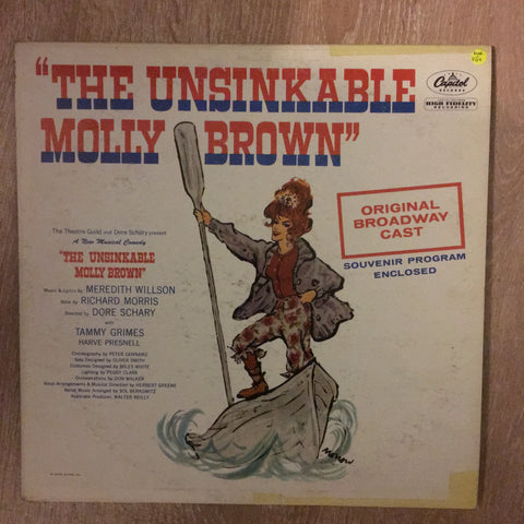 The Unsinkable Molly Brown - Original Broadway Cast - Vinyl LP - Opened  - Very-Good+ Quality (VG+)