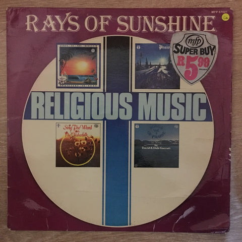 Rays Of Sunshine Religious (Christian Music) - Various  - Vinyl LP Record - Opened  - Good+ Quality (G+)