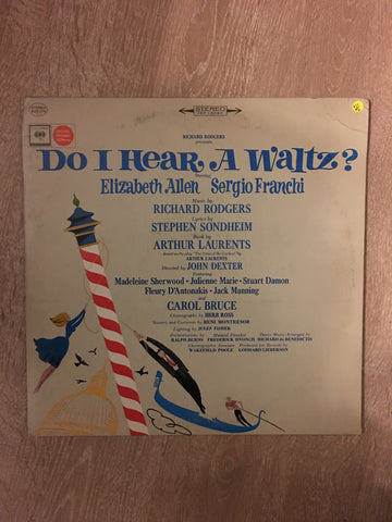 Richard Rodgers ‎– Do I Hear A Waltz? (Original Broadway Cast) - Vinyl LP - Opened  - Very-Good+ Quality (VG+)