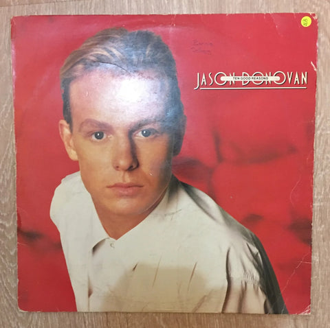 Jason Donovan - Ten Good Reasons - Vinyl LP Record - Opened  - Very-Good Quality (VG) - C-Plan Audio