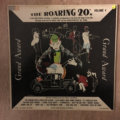 The Roaring 20's - Vol 4 - Vinyl LP Record - Opened  - Very-Good Quality (VG)