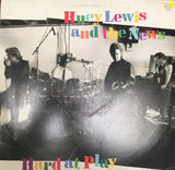 Huey Lewis and the News  - Hard At Play  - Vinyl LP Record - Opened  - Very-Good+ Quality (VG+) - C-Plan Audio