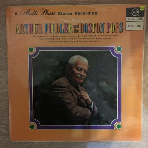 Arthur Fiedler - The Best of  Arthur Fiedler and The Boston Pops - Vinyl LP Record - Opened  - Very-Good+ Quality (VG+) - C-Plan Audio