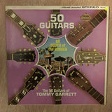 50 Guitars of Tommy Garret Go South Of The Border - Vinyl LP - Opened  - Very-Good+ Quality (VG+)