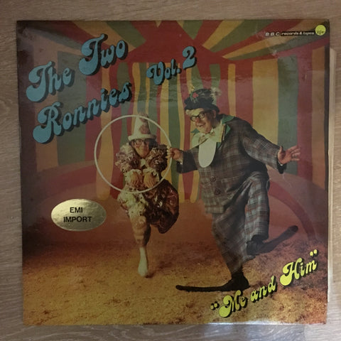 The Two Ronnie - Vol 2 ‎– Vinyl LP Record - Opened  - Very-Good+ Quality (VG+)