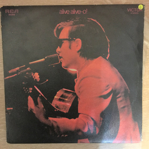 José Feliciano ‎– Alive Alive-o! Live At London Palladium  - Double Vinyl LP Record - Opened  - Very-Good Quality (VG)