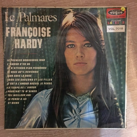 Françoise Hardy ‎– Le Palmares - Vinyl LP Record - Opened  - Very-Good Quality (VG)