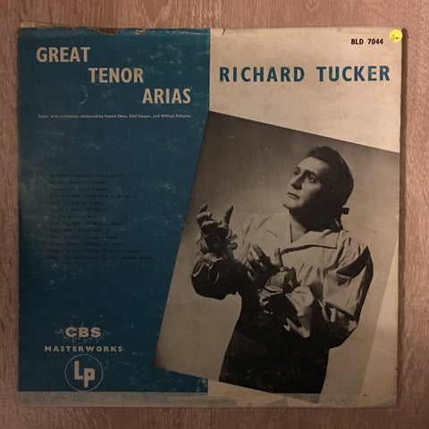 Richard Tucker - Great Tenor Arias - Vinyl LP Record - Opened  - Good+ Quality (G+)