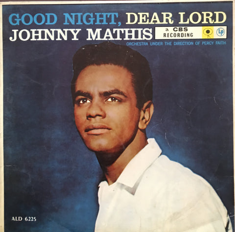 Johnny Mathis ‎– Good Night, Dear Lord - Vinyl LP Record - Opened  - Very Good Quality (VG) - C-Plan Audio