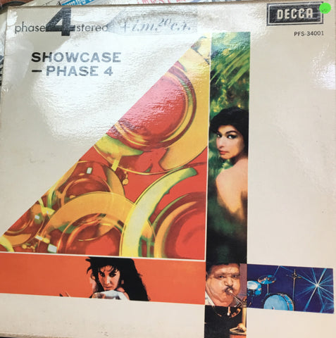 Various  - Showcase - Phase 4 Stereo - Vinyl LP Record - Opened  - Very-Good Quality (VG) - C-Plan Audio
