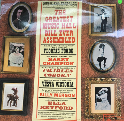 The World's Music Hall Bill Ever Assembled  - Vinyl LP Record - Opened  - Very-Good+ Quality (VG+)