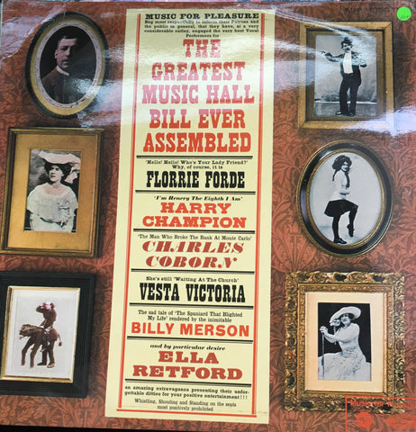 Various - The World's Greatest Music Hall Bill Ever Assembled - Vinyl LP Record - Opened  - Very-Good+ Quality (VG+) - C-Plan Audio