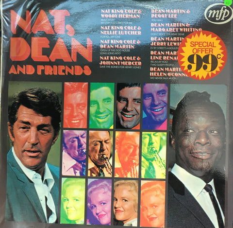 Various - Nat, Dean and Friends - Vinyl LP Record - Opened  - Very-Good Quality (VG) - C-Plan Audio