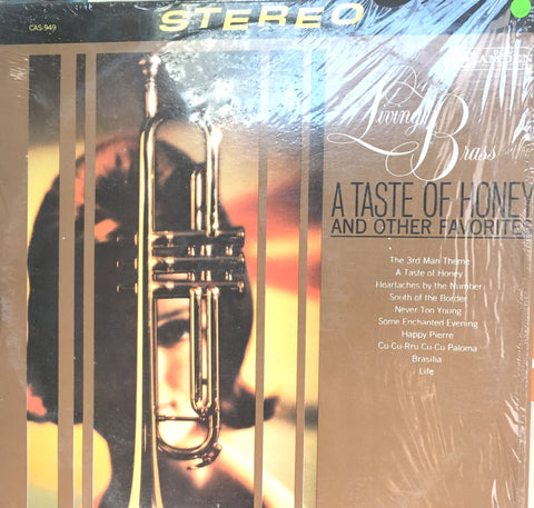 Living Brass - A Taste of Honey and Other Favourites - Vinyl LP Record - Opened  - Very-Good Quality (VG) - C-Plan Audio
