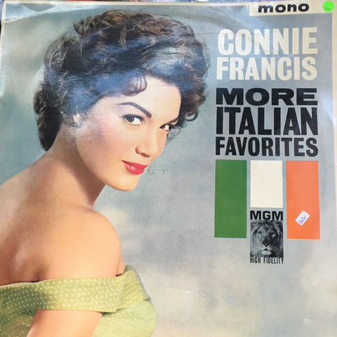 Connie Francis - More Italian Favourites - Vinyl LP Record - Opened  - Good Quality (G)