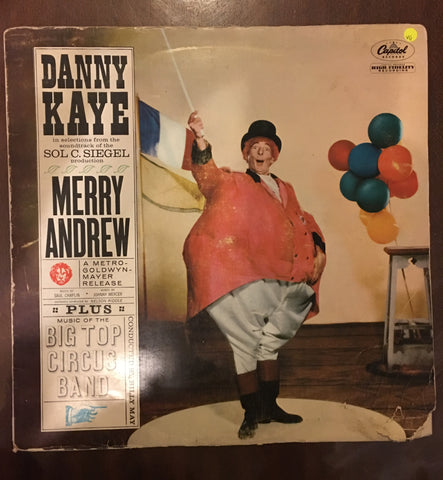 Danny Kaye - Merry Andrew - Vinyl LP Record - Opened  - Very-Good Quality (VG)