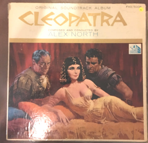Cleopatra - Original Soundtrack Album - Vinyl LP Record - Opened  - Good+ Quality (G+)