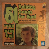 51 Holiday Songs For Eyal - Vinyl LP Record - Opened  - Very-Good+ Quality (VG+)