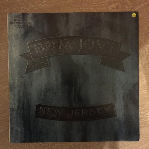 Bon Jovi - New Jersey - Vinyl LP Record - Opened  - Very-Good+ Quality (VG+)