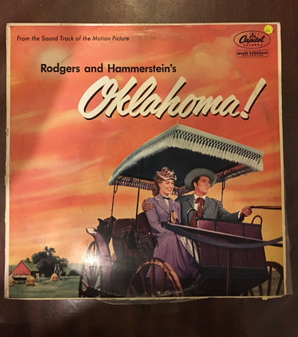 Rodgers and Hammerstein's Oklahoma - Vinyl LP Record - Opened  - Good+ Quality (G+) - C-Plan Audio