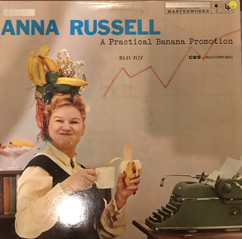 Anna Russel - A Practical Banana Promotion - Vinyl LP Record - Opened  - Very-Good Quality (VG) - C-Plan Audio