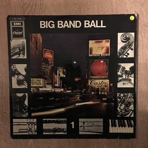 Various ‎– Big Band Ball 1 - Vinyl LP Record - Opened  - Very-Good Quality (VG)