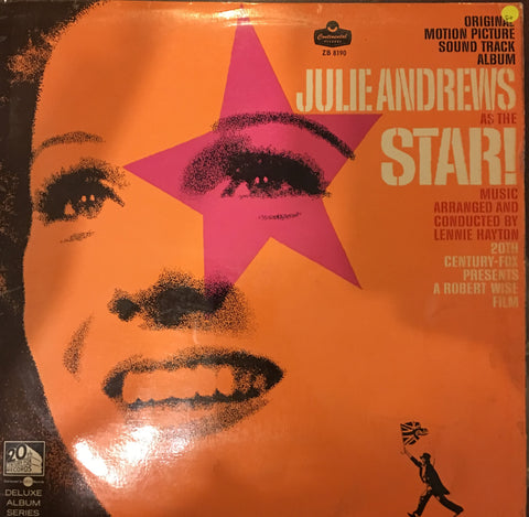 Star - Julie Andrews  - Original Soundtrack - Vinyl LP Record - Opened  - Good+ Quality (G+) - C-Plan Audio