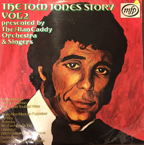Alan Caddy Orchestra & Singers ‎– The Tom Jones Story Vol 2 - Vinyl LP Record - Opened  - Very-Good+ Quality (VG+) - C-Plan Audio