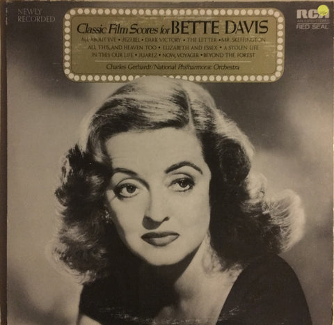 Classic Film Scores for Bette Davis - Vinyl LP Record - Opened  - Very-Good+ Quality (VG+)