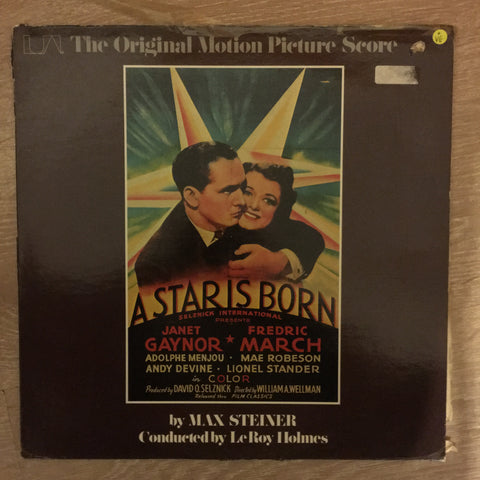 A Star Is Born - Original Soundtrack - Vinyl LP Record - Opened  - Very-Good Quality (VG)