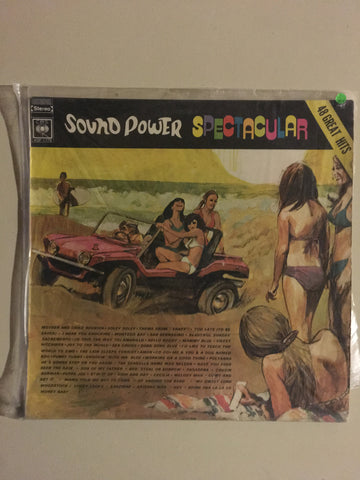 Various  - Sound Power Spectacular - 48 Great Hits  - Vinyl LP - Opened  - Very-Good+ Quality (VG+) - C-Plan Audio