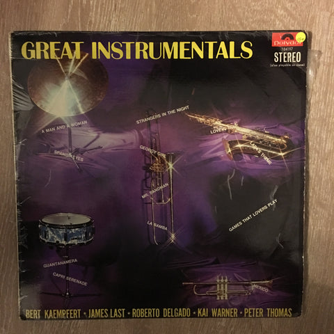 Various ‎– Great Instrumentals - Vinyl LP Record - Opened  - Very-Good+ Quality (VG+) - C-Plan Audio
