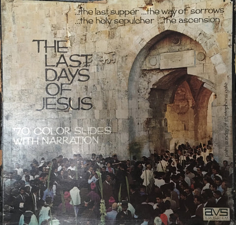 The Last Days - With Colour Slides and Narration (Very rare - Box Set  - Collectors) - Vinyl LP Record - Opened  - Very-Good+ Quality (VG+) - C-Plan Audio