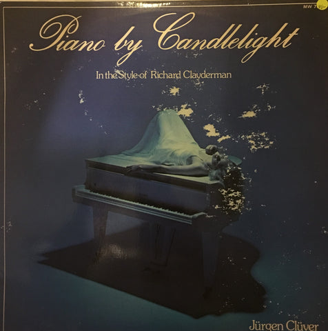 Jurgen Cluver - Piano by Candlelight - Vinyl LP Record - Opened  - Good Quality (G) - C-Plan Audio