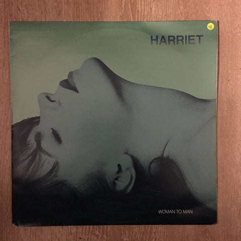 Harriet ‎– Woman To Man  - Vinyl LP - Opened  - Very-Good+ Quality (VG+)