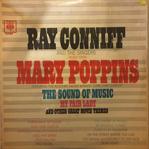 Ray Conniff and the Singers - Music from Great Movie Themes - Vinyl LP Record - Opened  - Very-Good+ Quality (VG+) - C-Plan Audio