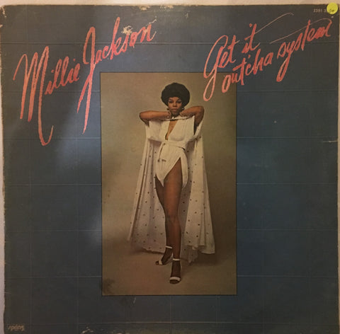 Millie Jackson - Get it Out'cha System- Vinyl LP Record - Opened  - Good Quality (G) - C-Plan Audio