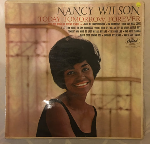 Nancy Wilson - Today, Tomorrow, Forever - Vinyl LP Record - Opened  - Good Quality (G) - C-Plan Audio