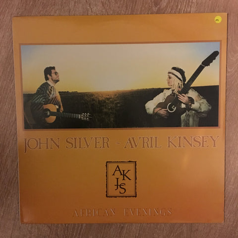 John Silver & Avril Kinsey - African Evenings - Vinyl LP Opened - Near Mint Condition (NM)