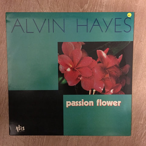 Alvin Hayes - Passion Flower - Vinyl LP Opened - Near Mint Condition (NM) - C-Plan Audio