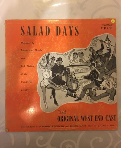 Salad Days with the Original West End Cast - Vinyl LP Record - Opened  - Very-Good Quality (VG) - C-Plan Audio
